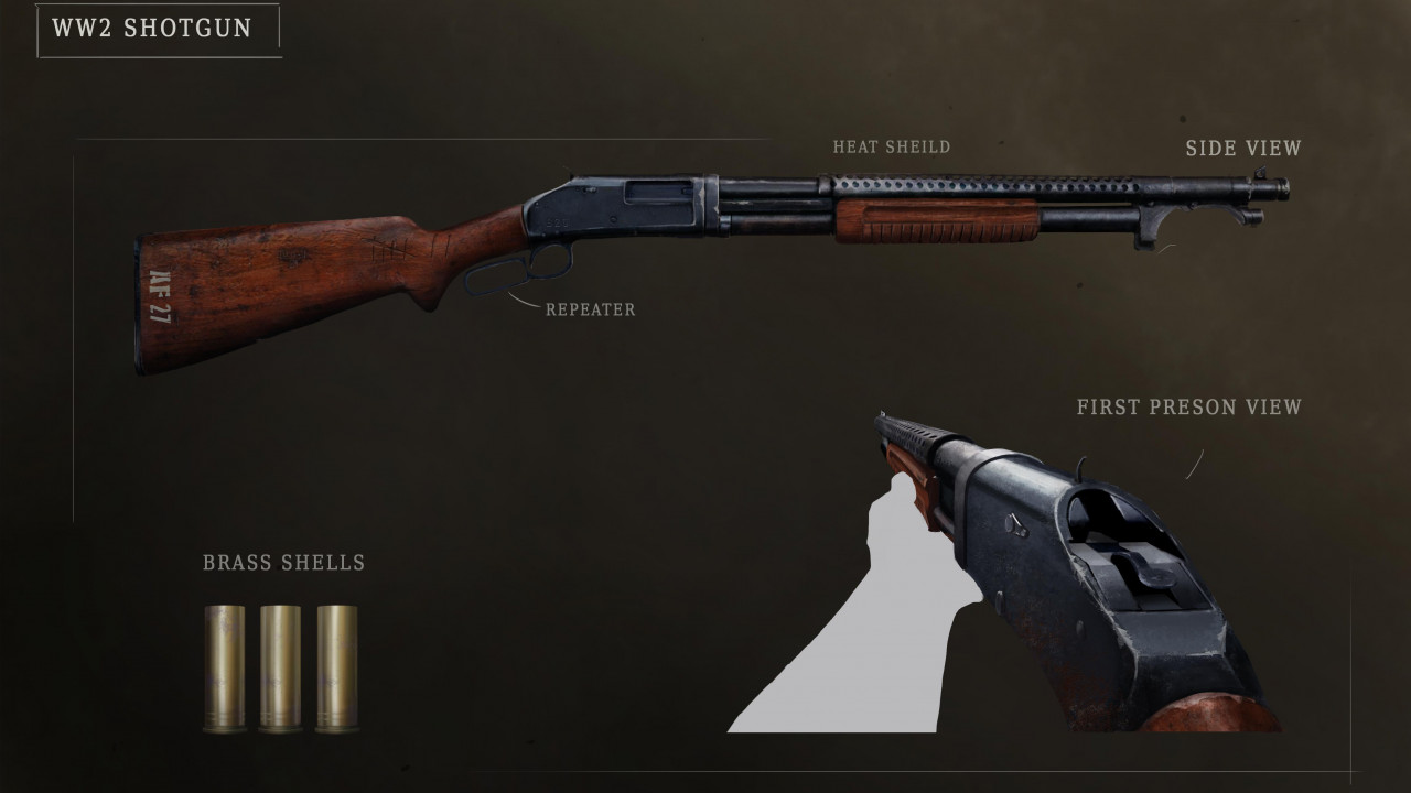WW2 Shotgun